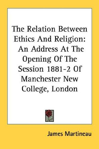 Download The Relation Between Ethics And Religion