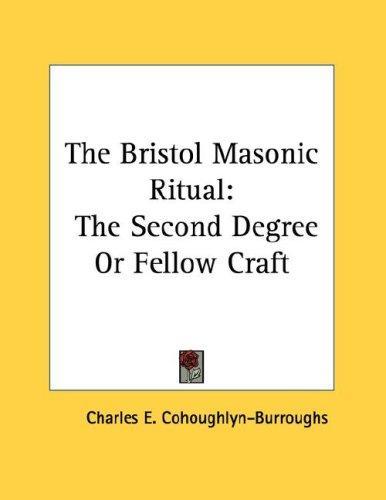 Download The Bristol Masonic Ritual