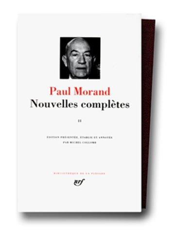 Image for Paul Morand: Nouvelles Completes, Tome 2 [Bibliotheque De La Pleiade] (French Edition)