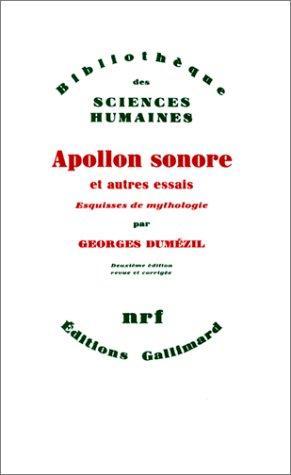 Download Apollon sonore et autres essais