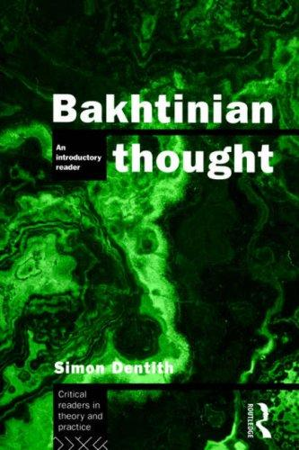 Download Bakhtinian thought