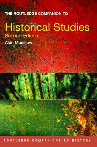 Download The Routledge companion to historical studies