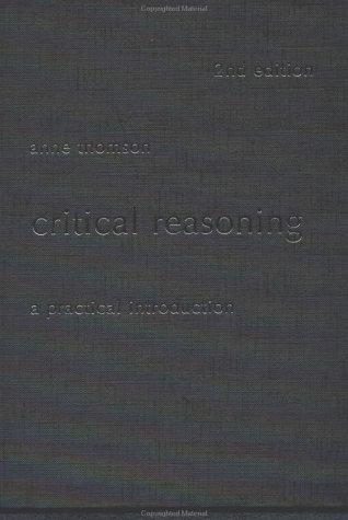 Download Critical reasoning