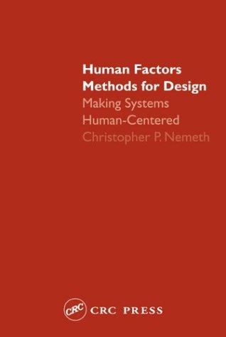 Human Factors Methods for Design