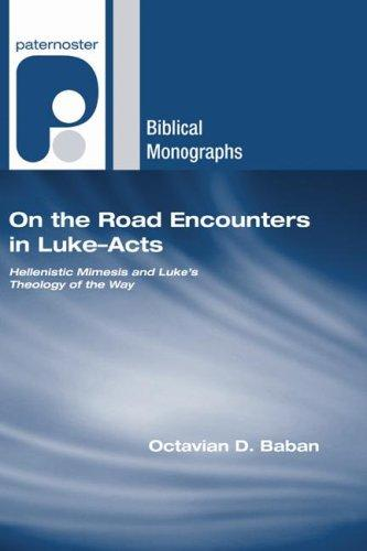 Download On the Road Encounters in Luke-Acts