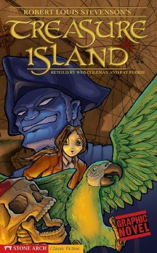 Download Treasure Island (Graphic Revolve (Graphic Novels))