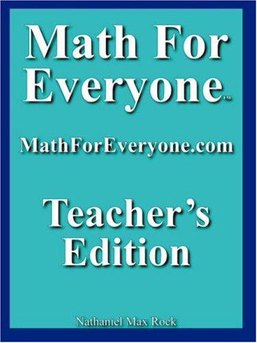 Math For Everyone