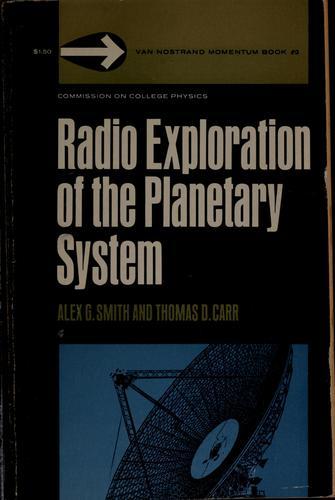 Radio exploration of the planetary system