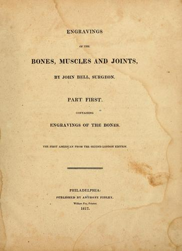 Download Engravings of the bones, muscles and joints
