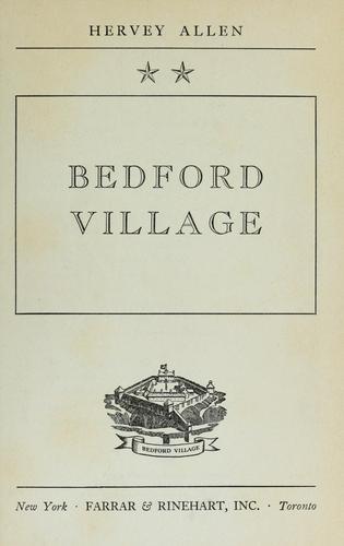 Download Bedford village.