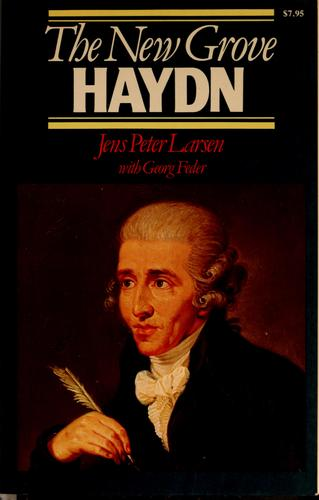Download The New Grove Haydn