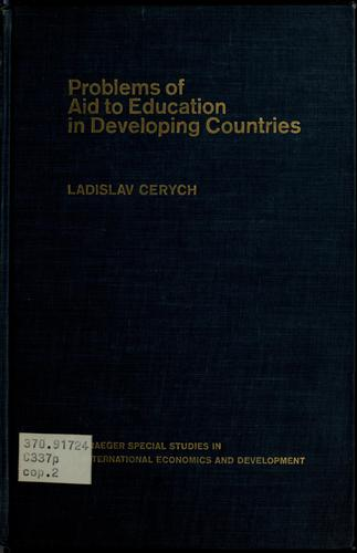 Download Problems of aid to education in developing countries.