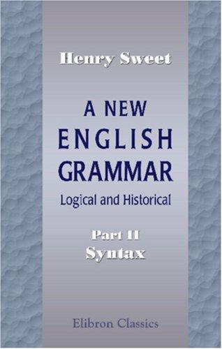 Download A New English Grammar