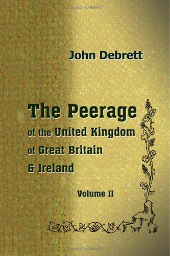 Download The Peerage of the United Kingdom of Great Britain & Ireland