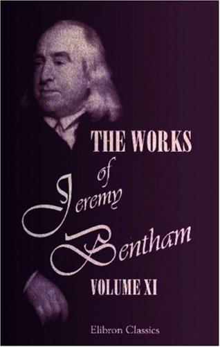 The Works of Jeremy Bentham