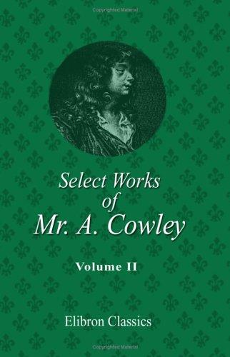 Download Select Works of Mr. A. Cowley