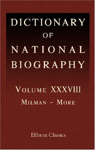 Download Dictionary of National Biography