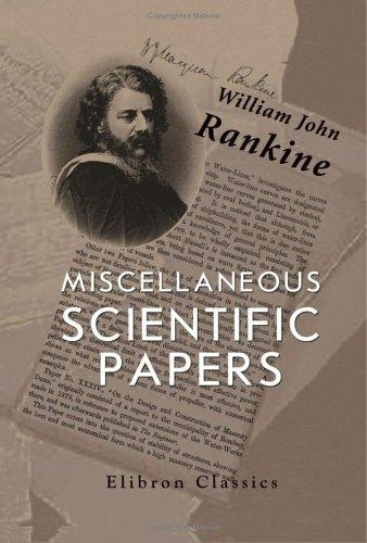 Miscellaneous Scientific Papers