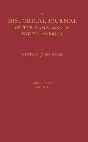 The Journal of Captain John Knox