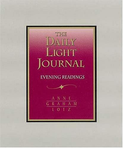 Download Daily Light Journal Evening Readings