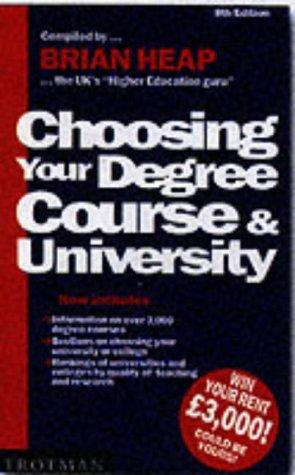 Download Choosing Your Degree Course and University