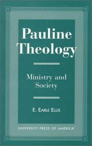 Download Pauline theology