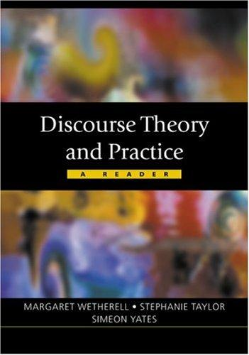 Image for Discourse Theory and Practice (Published in association with The Open University)