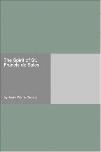 Download The Spirit of St. Francis de Sales