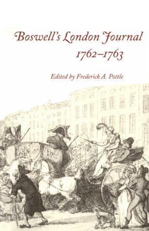 Download Boswell's London journal, 1762-1763