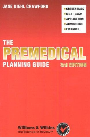 Download The premedical planning guide