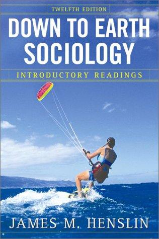 Download Down to Earth Sociology