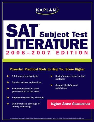 Download Kaplan SAT Subject Test