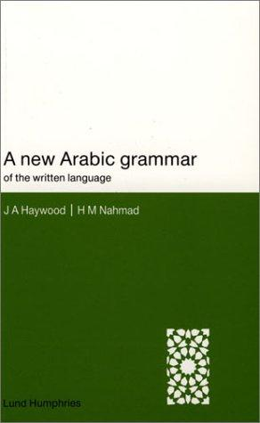 Download A new Arabic grammar of the written language
