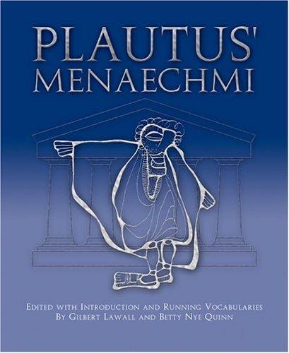 Plautus' Menaechmi