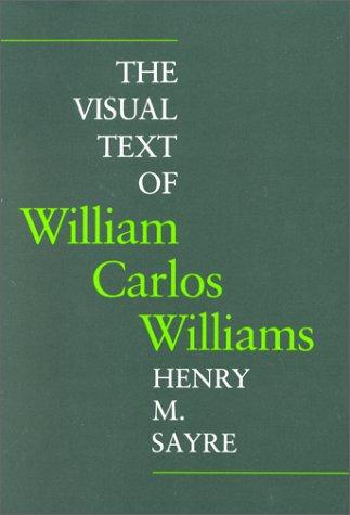 Image for The Visual Text of William Carlos Williams