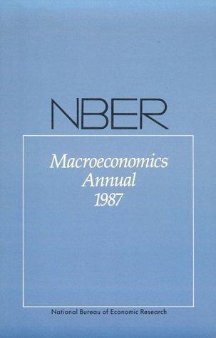 Download NBER Macroeconomics Annual (NBER Macroeconomics)