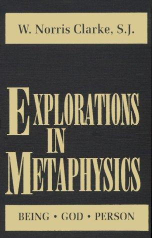 Download Explorations in Metaphysics