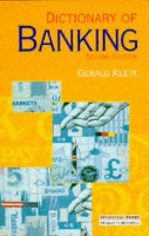 Download Dictionary of Banking