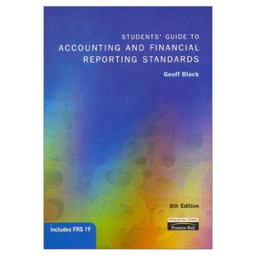 Download Students' guide to accounting and financial reporting standards