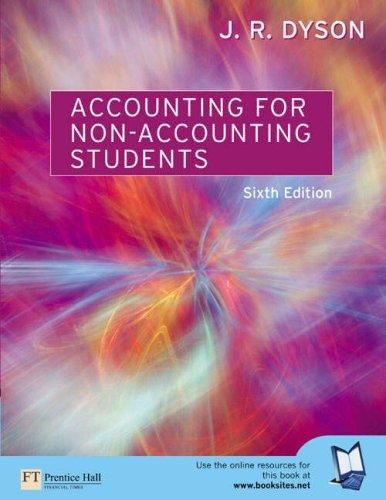 Download Accounting for Non-Accounting Students