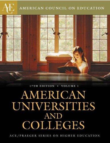 American Universities and Colleges Two Volumes