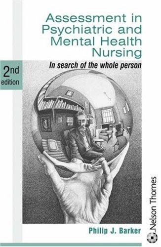 Download Assessment in psychiatric and mental health nursing