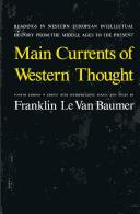 Download Main currents of Western thought