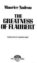 The greatness of Flaubert.