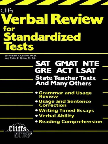 CliffsTestPrep Verbal Review for Standardized Tests