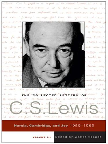 Download The Collected Letters of C. S. Lewis, Volume 3