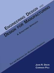 Engineering Design And Design For Manufacturing: A Structured Approach: Text And Reference For Mechanical Engineers PDF Download