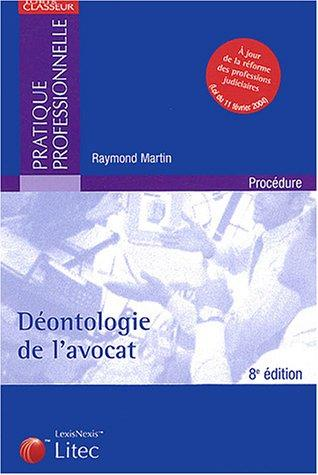 Download Déontologie de l'avocat