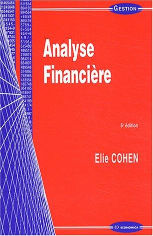 Download Analyse financière