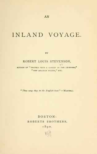 An  inland voyage.